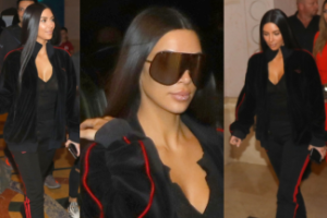 Kim Kardashian poleciała do Dubaju na warsztaty kosmetyczne (ZDJĘCIA)