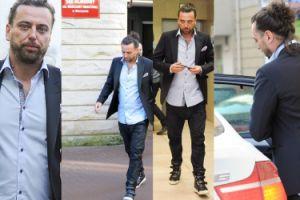 Zdenerwowany Emil Haidar w butach Balmain sądzi się z Dodą (ZDJĘCIA)