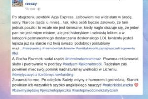 """Korwin Piotrowska o """"Azja Express"""": """"Kilka osób będzie żałowało, że tam jednak poszło"""""""