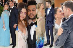 Zakochane pary na gali MET: Selena i The Weeknd, Lively i Reynolds, Lopez i Rodriguez... (ZDJĘCIA)