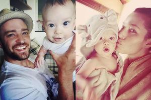 Justin Timberlake i Jessica Biel chwalą się dzieckiem