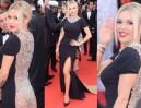 Sutki i noga Dody na czerwonym dywanie w Cannes (ZDJĘCIA)
