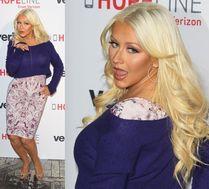 Aguilera wdzięczy się do paparazzi