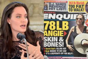 """""""National Enquirer"""" znów """"uśmierca"""" Angelinę Jolie: """"Zabija ją TAJEMNICA!"""""""