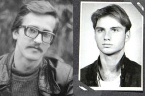 Młody Komorowski i Duda