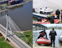 Skoczył z mostu do Wisły, żeby... zrobić sobie selfie w locie!