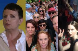 """Korwin-Piotrowska: """"Niektóre gwiazdy zaangażowane w antyrządowe protesty straciły fanów!"""""""