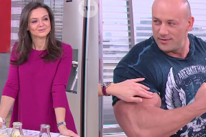"""Rusin zachwycona Hordkorowym Koksem: """"O MATKO! JEZUS MARIA! Jak się taki biceps wyrabia?"""""""