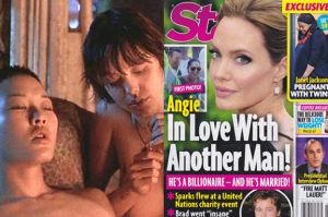 Angelina zdradzała Brada z kobietami i... żonatym miliarderem?