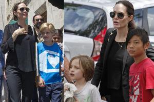 """Angelina Jolie: """"Moje dzieci uczą się 7 języków. To obywatele świata"""""""