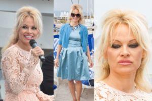 Pamela Anderson walczy w Cannes o wolność delfinów (ZDJĘCIA)