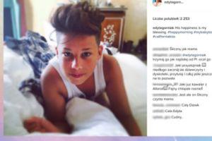 Edyta Górniak pokazała syna w łóżku