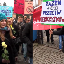 """Marsz muzułmanów we Wrocławiu: """"Jesteśmy potencjałem dla Polski i Europy!"""""""