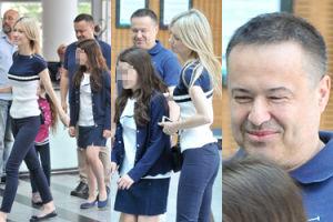 """Magda Ogórek z mężem i córką """"promuje wartości rodzinne"""" w TVP (ZDJĘCIA)"""