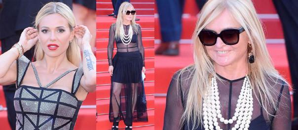 """Doda z facetem i Monika Olejnik w """"naked dress"""" na premierze filmu Polańskiego w Cannes (ZDJĘCIA)"""