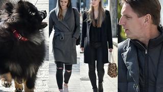"""""""Lis Clan"""" - Tomasz z córkami i psem na wiosennym spacerze (ZDJĘCIA)"""