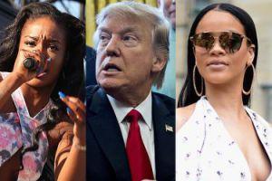 """Rihanna i Azealia Banks kłócą się o… Trumpa. """"Przestańcie chłostać prezydenta! To jest głupie i żałosne"""""""