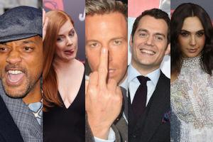 """Gwiazdy na premierze """"Batman V Superman"""": Ben Affleck pokazał środkowy palec... (ZDJĘCIA)"""