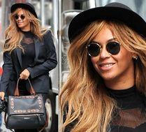 Beyonce w czerni na ulicach Nowego Jorku