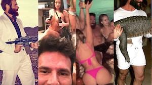 """Tak żyje 34-letni syn milionera. Nazwał się """"królem Instagrama""""... (ZDJĘCIA)"""