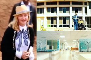 """Madonna otworzyła swój szpital w Malawi! """"Nigdy nie rezygnuj z marzeń"""""""