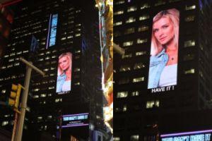 Joanna Krupa wisi na Times Square