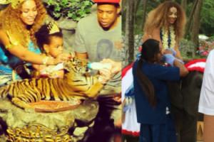 """Obrońcy zwierząt atakują Beyonce: """"Tygrys TO NIE ZABAWKA!"""""""