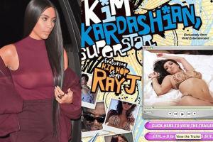 """10 lat temu wydano seks taśmę Kardashianki! """"Kim zaprzeczała, że to ona i płakała"""""""