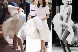 Kate Middleton jak Marilyn Monroe... (ZDJĘCIA)