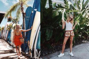 Jessica Mercedes na wakacjach w Kalifornii