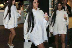 Kim Kardashian PIERWSZY RAZ PO NAPADZIE: w bluzie, bez majtek i bez makijażu (ZDJĘCIA)
