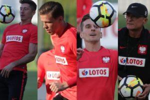 Lewandowski, Szczęsny i Milik ostro trenują przed meczem z Danią (ZDJĘCIA)