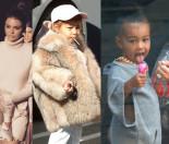 Kim Kardashian karmi córkę... lizakami?