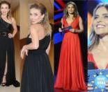 Wystrojona Edyta Herbuś w dwóch sukienkach na koncercie TVP. Która lepsza?