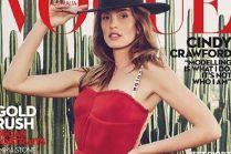 Cindy Crawford na okładce Vogue'a