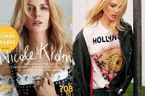 """Młodzieżowa Nicole Kidman pozuje dla """"Glamour"""""""