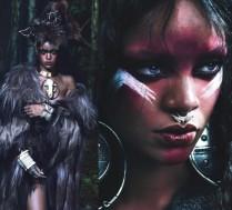 Rihanna jako SZAMANKA pozuje dla