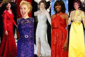 Najsłynniejsze inauguracyjne suknie Pierwszych Dam USA (ZDJĘCIA)