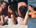 DiCaprio całuje się na plaży z nową dziewczyną! (ZDJĘCIA)