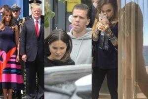 ZDJĘCIA TYGODNIA: Wizyta Trumpa w Polsce, pokłóceni Marina i Wojtuś, wytatuowana wnuczka Millera i... goły tyłek Warnke! (ZDJĘCIA)