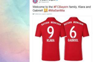 Bayern uhonorował córkę Lewandowskiego