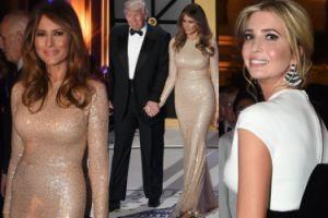 Donald, Melania i Ivanka Trump na balu przed inauguracją (ZDJĘCIA)