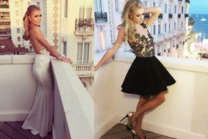 Paris Hilton polubiła pozowanie na balkonie