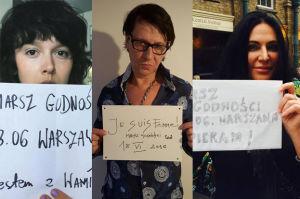 Brodka, Kayah i Maleńczuk popierają Marsz Godności (ZDJĘCIA)