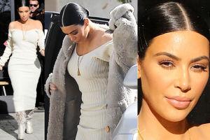Kim Kardashian znowu wystylizowana przez Westa? (FOTO)