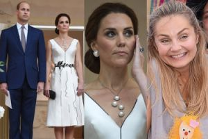 """Socha chce mieć sukienkę Kate Middleton od Baczyńskiej. """"Uwielbia jak pisze się, że jest ikoną stylu"""""""