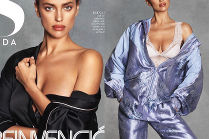 """Irina Shayk pozuje dla """"S Moda"""""""