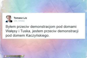 Giertych i Lis przeciw demonstracji pod domem Kaczyńskiego