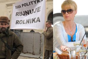"""Pieńkowska o protestach: """"Rolnicy to NAJBARDZIEJ UPRZYWILEJOWANA grupa społeczna!"""""""