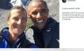 Bear Grylls na wycieczce z Obamą